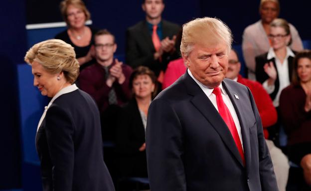 הילרי קלינטון דונלד טראמפ (צילום: רויטרס)