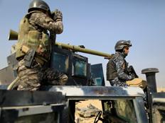 דיווח מיוחד מאזור הקרבות בעירק (צילום: רויטרס)