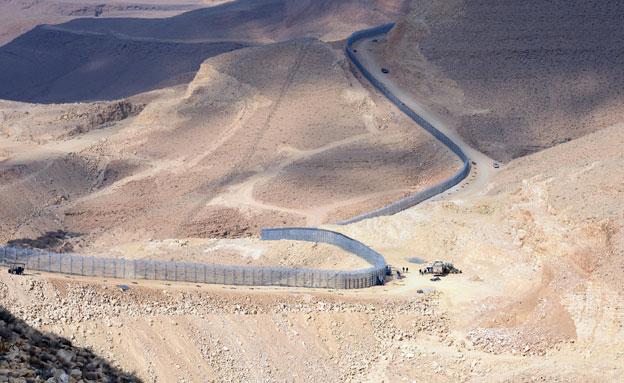 """גבול מצרים. ארכיון (צילום: לע""""מ)"""