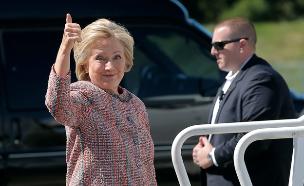 """""""הסקרים מזויפים"""". טראמפ (צילום: רויטרס)"""