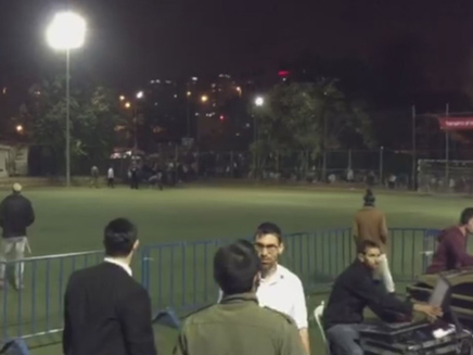 רחבת האירוע הריקה (צילום: חדשות 2)
