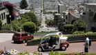 רכב חשמלי נוסע ברחובות סן פרנסיקו (צילום: getty images ,getty images)