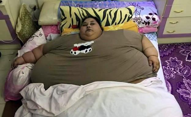 האישה השמנה בעולם (צילום: CEN)