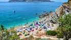 החוף הכי גדול באטיקה, יוון (צילום: Kotsovolos Panagiotis, Shutterstock)