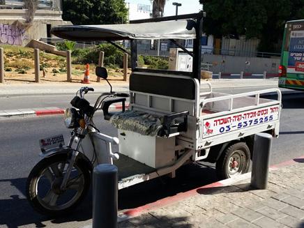 קלנועית (צילום: חדשות 2)
