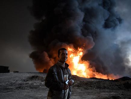 הקרב על מוסול (צילום: getty images)