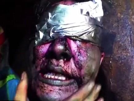 עינויים באסקייפ רום (צילום: יוטיוב)