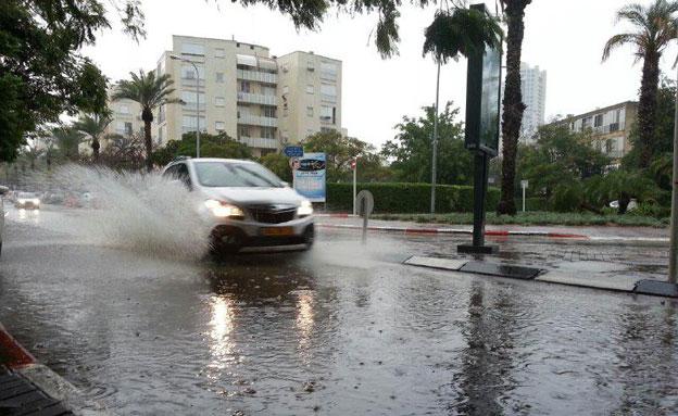 חדשות היום: היום: גשמים וחשש לשיטפונות