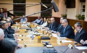 ישיבת הממשלה, ארכיון (צילום: יונתן סינדל / Flash90)
