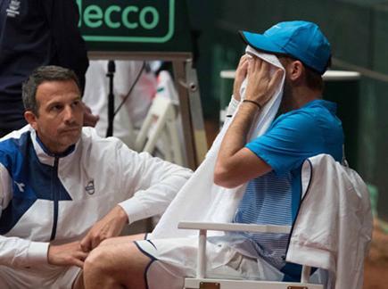 קרב חשוב לטניס הישראלי. סלע(ספורט 5)