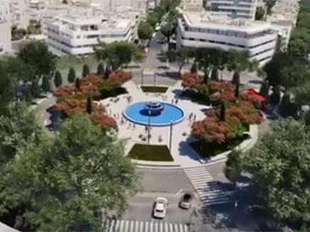 צפו: כך תיראה כיכר דיזינגוף (צילום: עיריית תל אביב)