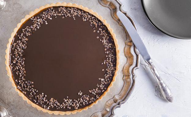 פאי שוקולד וקפה (צילום: אסף אמברם ,אוכל טוב)