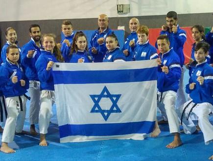 נבחרת הקארטה (צילום: באדיבות נבחרת ישראל בקארטה)