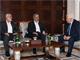 מפגש הפסגה (צילום: התקשורת הפלסטינית)