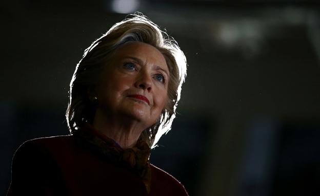 המועמדת לא התייחסה לחקירה (צילום: רויטרס)