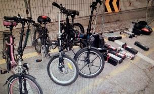 צפו: סכנת האופניים החשמליים (צילום: דוברות משטרת ישראל)