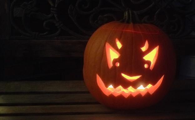 פנס פרצוף דלעת מרושע (צילום: Gerry Paille, Flickr ,Flickr)