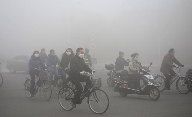 כ-600 אלף ילדים מתים מזיהום אוויר כל שנה (צילום: רויטרס)