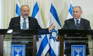 ליברמן: מחויבים לתמוך בעמדת נתניהו (צילום: Yonatan Sindel, פלאש 90)