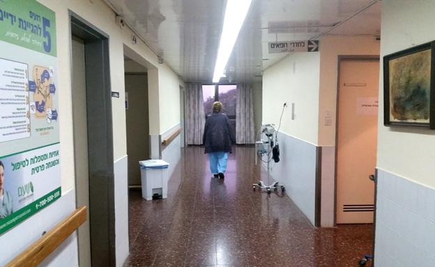 חדשות 2 Image: מחסור חמור במיטות אשפוז בישראל