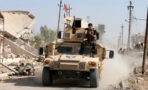הכוחות המיוחדים בדרך למוסול (צילום: רויטרס)