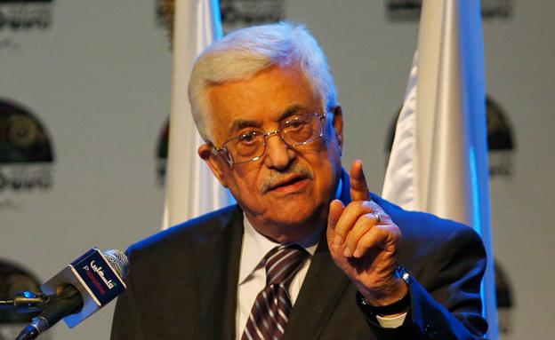 """הפלסטינים זועמים. יו""""ר הרשות אבו מאזן (צילום: רויטרס)"""