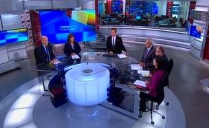 פאנל הפרשנים: תאגיד השידור (צילום: חדשות 2)