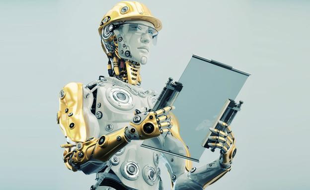 רובוט עובד במקום בן אדם (צילום: ShutterStock ,ShutterStock)
