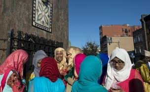 """מסע בעקבות הקול המוסלמי בארה""""ב (צילום: רויטרס)"""