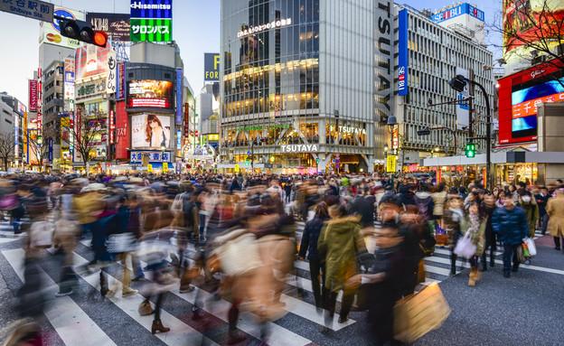 צומת שיבויה, טוקיו (צילום: ESB Professional, Shutterstock)