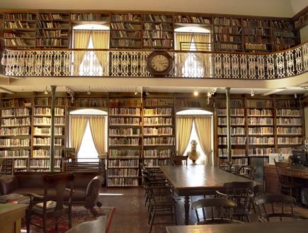 כלא שהפך לספרייה, קוובק, קנדה