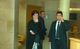 הנהגת הדורסת בבית המשפט (צילום: חדשות 2)