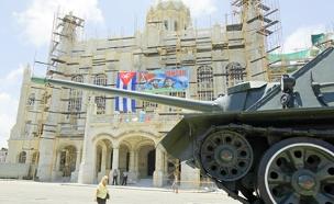 תרגיל צבאי בקובה (צילום: רויטרס)