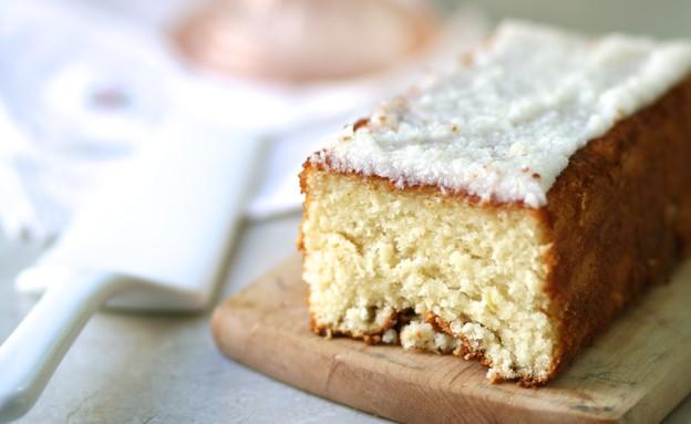 עוגת לימון וקוקוס (צילום: קרן אגם ,אוכל טוב)