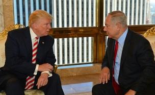 הצוות שימנה טראמפ - עדיף לישראל (צילום: קובי גדעון לע״מ)