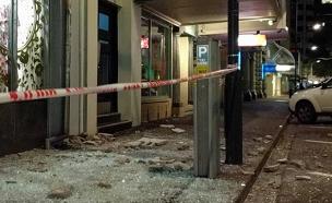 ניו זילנד, רעידת אדמה (צילום: חדשות 2)