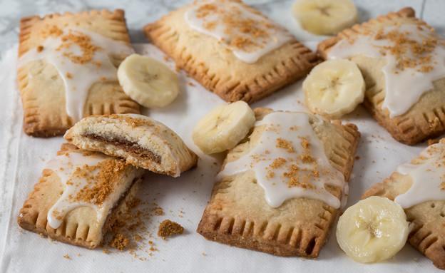 פופ טארט בננות, לוטוס וקוקוס (צילום: דרור עינב ,אוכל טוב)