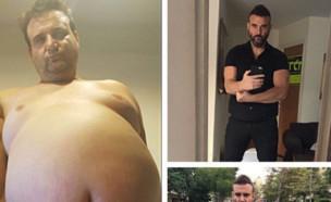 ירון ברלד חוגג את הירידה במשקל (צילום: instagram ,instagram)