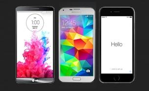 סמארטפון, שוק, סמרטפון, סמארטפונים, פלאפון (צילום: חדשות 2)