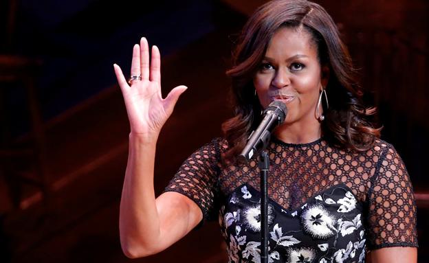 התבטאות גזענית, מישל אובמה (צילום: רויטרס)