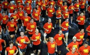20 אלף צפויים לרוץ (צילום: פלאש 90, יוסי זילגר)