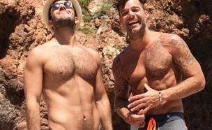 ריקי מרטין וחואן יוסף (צילום: instagram ,instagram)