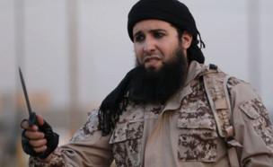 """ראחיד קאסים (צילום: מתוך סרטון התעמולה של דאע""""ש)"""
