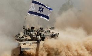 """טנק של צה""""ל (צילום: רויטרס)"""