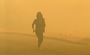 שריפה בזכרון יעקב (צילום: חדשות 2)
