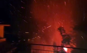 שריפה זכרון יעקב (צילום: כיבוי והצלה)