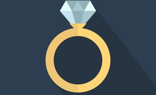 הצעת נישואין (צילום: shutterstock)