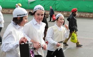 חינוך חרדי - תלמידים חרדיים (צילום: shutterstock ,מעריב לנוער)