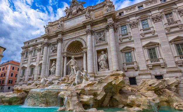 פונטנה די טרווי, רומא (צילום: Catarina Belova, Shutterstock)