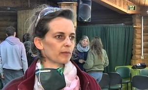רמה בעלת מסעדה שנפגעה בשריפה במושב נטף (צילום: חדשות 2)